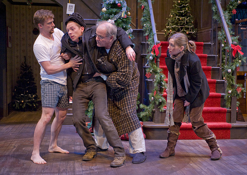 Theater review seasons greetings northlight theatre in chicago seasons greetings by alan ayckbourn at the northlight theatre in skokie chicago theater review by m4hsunfo