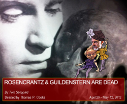 an analysis of the fate in rosencrantz and guildenstern are dead Rosencrantz: did you ever think of yourself as actually dead, lying in a box with a lid on it.