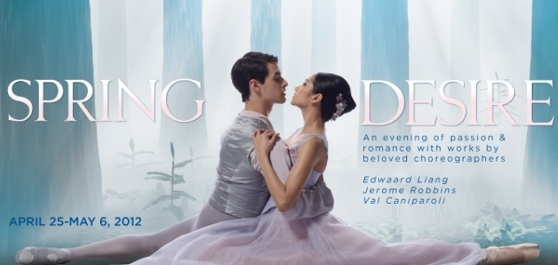 Post image for Upcoming Chicago Dance Feature: SPRING DESIRE (Joffrey Ballet Company in Chicago)