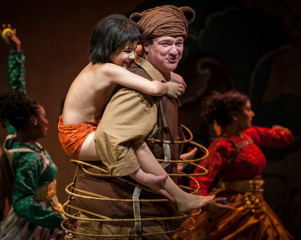 """Review of """"the jungle book"""" at the goodman theatre in chicago"""