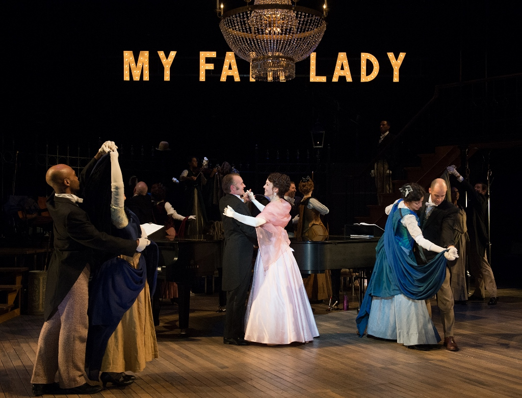a summary of the musical my fair lady 'my fair lady' couldn't actually dance all night, so these songs had to go the musical has some of the best-known songs in broadway history, but it originally had other tunes that almost no one knows.