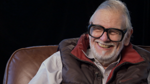 George Romero, director of the seminal 1968 film NIGHT OF THE LIVING DEAD, as seen in Rob Kuhns' documentary BIRTH OF THE LIVING DEAD.