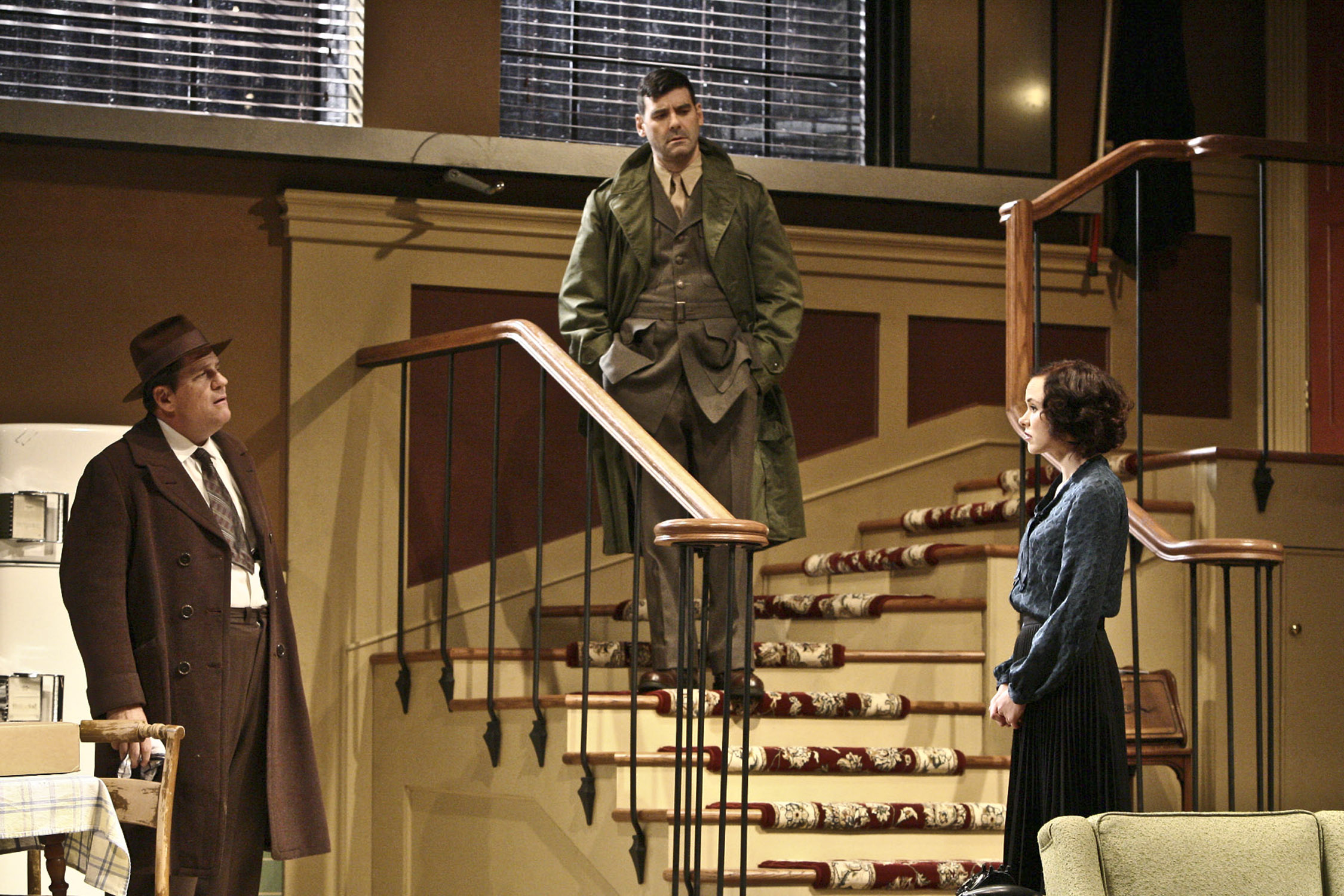 a review of fredereick knotts play wait until dark Jack ellis heads the cast of the original theatre company's revival of the frederick knott thriller, wait until dark, touring the uk this autumn.
