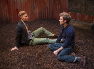 Jake Szczepaniak and Christopher Sheard in Profiles Theatre's production of COCK.