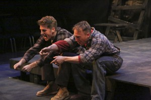 Jonah Platt and Mark Whitten star in the LA MIRADA THEATRE FOR THE PERFORMING ARTS production of FLOYD COLLINS, directed by Richard Israel .