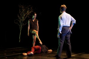 From Holly Rothchild's THE BETTER TO SEE YOU WITH by L.A. Contemporary Dance Company,  photo by Taso Papadakis