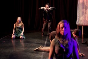 From Holly Rothchild's THE BETTER TO SEE YOU WITH by L.A. Contemporary Dance Company,  photo by Taso Papadakis.
