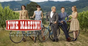Pink Martini and the Von Trapps - POSTER