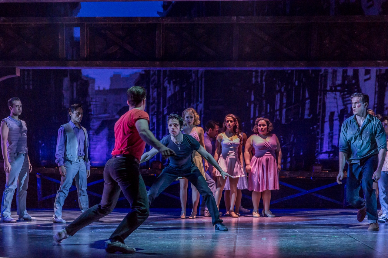 west side story a more violent side of romeo and juliet The real-life drama behind 'west side story' toggle more options embed urban romeo and juliet it's really, 'how can love survive in a violent world of prejudice' that's what it's about tension on and off stage.