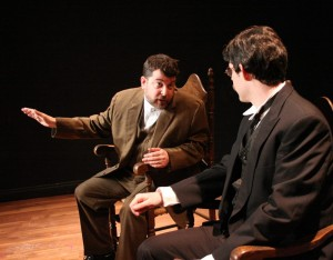 Nathan Pease (Otto Gross) and Patrick Doolin (Carl Jung)