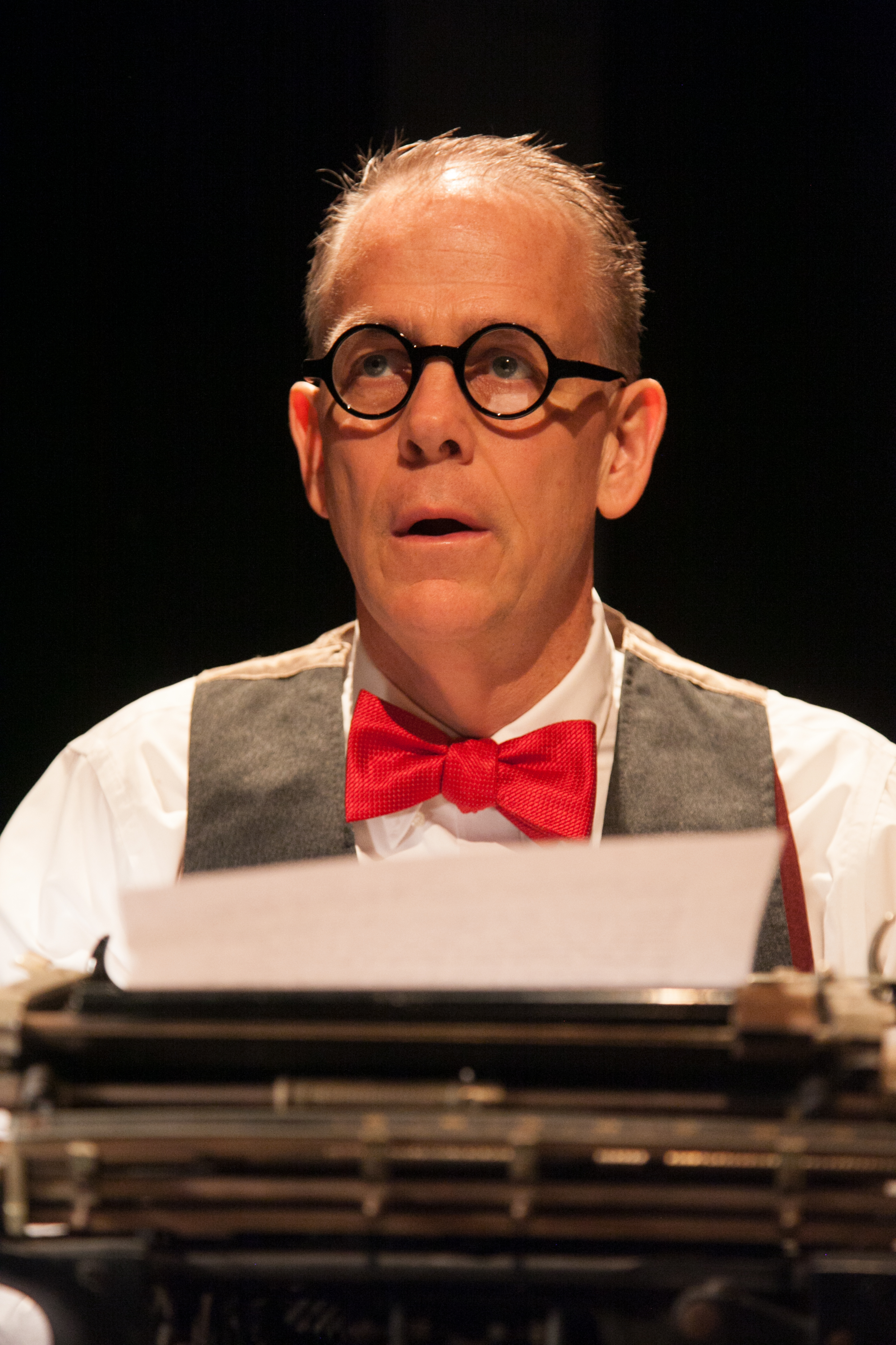 Theater Review The Columnist American Blues Theater In