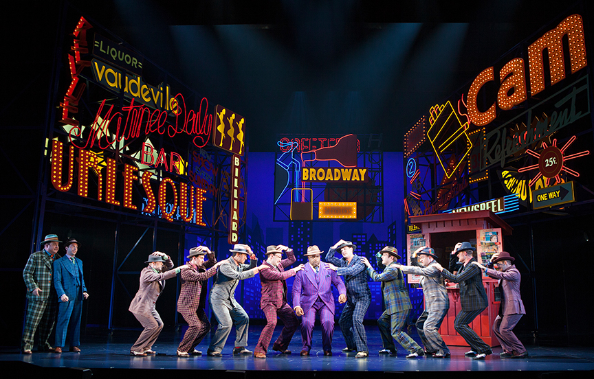 Theater Review: GUYS A...