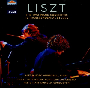 Post image for CD Review: LISZT — The Two Piano Concertos; 12 Transcendental Études (Alessandro Ambrosoli)