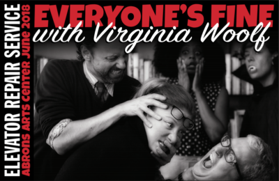 Post image for Off-Broadway Theater Review: EVERYONE'S FINE WITH VIRGINIA WOOLF (Elevator Repair Service)