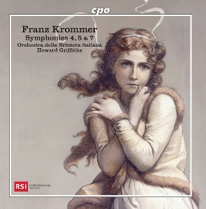 Post image for CD Review: FRANZ KROMMER SYMPHONIES 4, 5 & 7 (Orchestra della Svizzera italiana – Howard Griffiths)