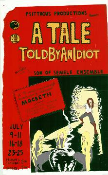 Post image for Los Angeles Theater Review: A TALE TOLD BY AN IDIOT (Son of Semele Theatre)