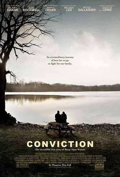 Post image for CONVICTION – with Hilary Swank, Sam Rockwell, Minnie Driver, directed by Tony Goldwyn – Movie Review