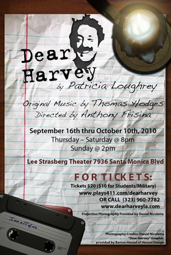 Post image for DEAR HARVEY – Lee Strasberg Center – Los Angeles (West Hollywood) Theater Review