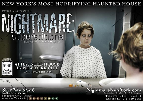 Post image for NIGHTMARE: SUPERSTITIONS – Off Broadway Haunted House Review