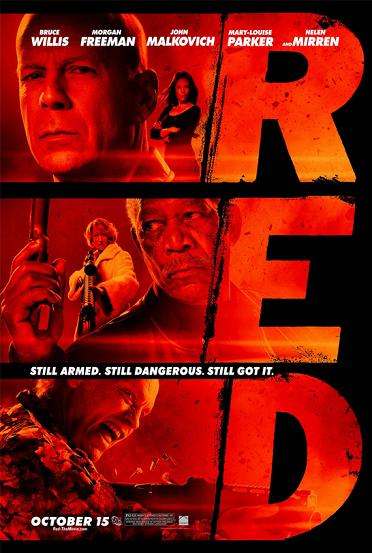 Post image for RED – with Bruce Willis, directed by Robert Schwentke – Movie Review