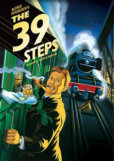 Post image for Interview with John Behlmann, now performing in ALFRED HITCHCOCK'S THE 39 STEPS, adapted by Patrick Barlow from the screenplay by Charles Bennett and Ian Hay (adapted from the novel by John Buchan, Off Broadway at New World Stages