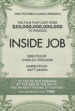 Post image for INSIDE JOB directed by Charles Ferguson – narrated by Matt Damon – Film Review