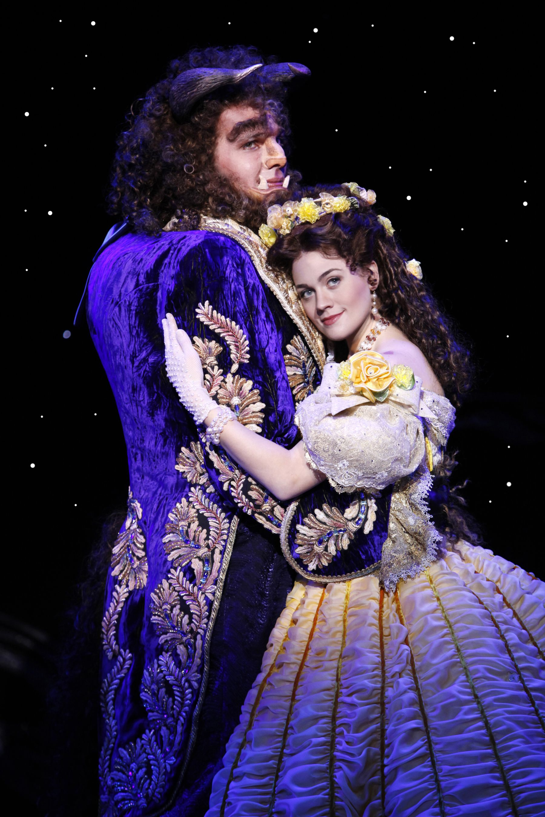 Beauty and the beast broadway costumes belle