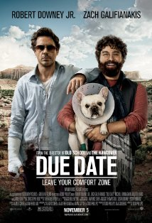 Post image for DUE DATE directed by Todd Phillips – with Robert Downey Jr., Zach Galifianakis – Movie Review