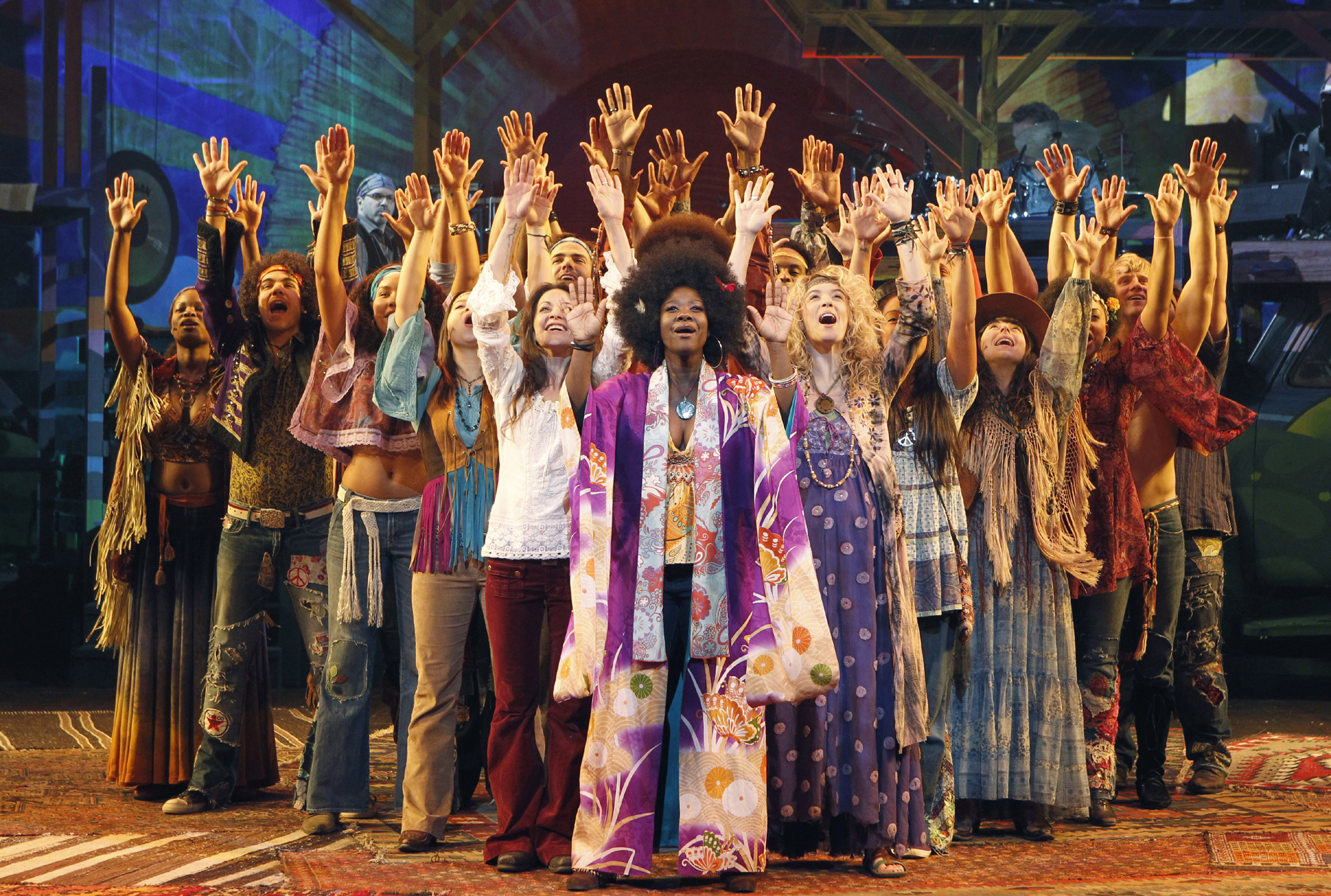 National tour theater review hair hollywood pantages for The broadway