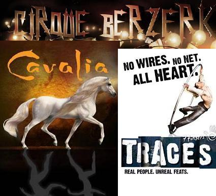 Post image for Circus Theater Reviews: TRACES; CAVALIA; CIRQUE BERZERK (North America Tours)
