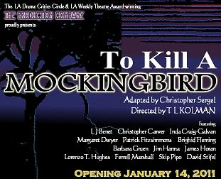 Post image for Los Angeles Theater Review: TO KILL A MOCKINGBIRD (The Production Company at the Lex in Hollywood)