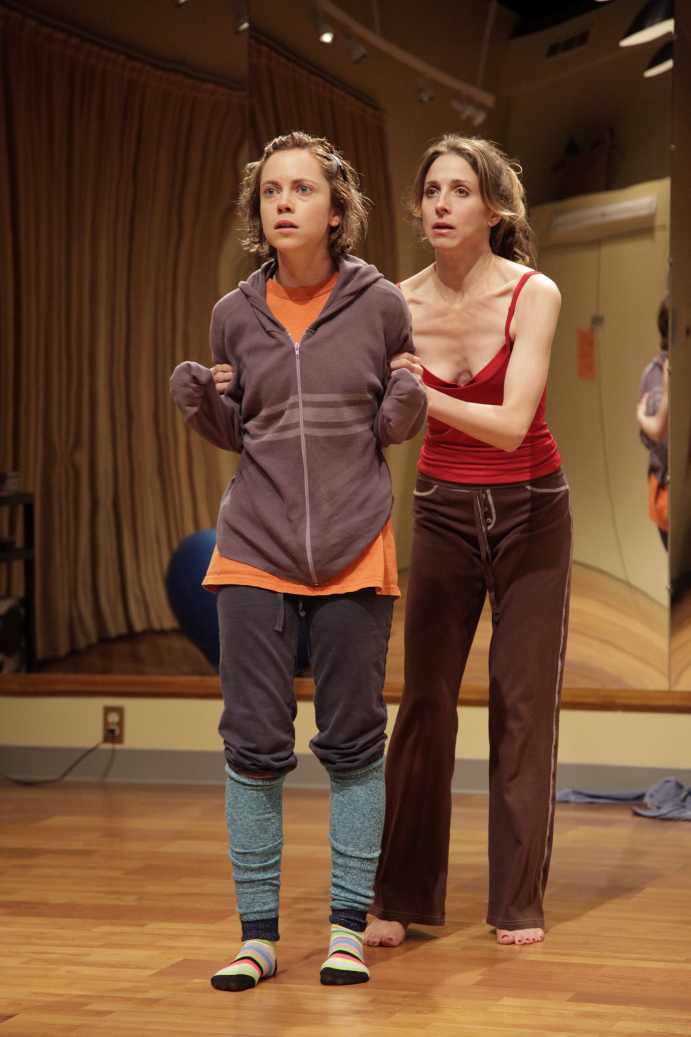 Lilly Holleman and Marin Hinkle in South Coast Repertory's ...