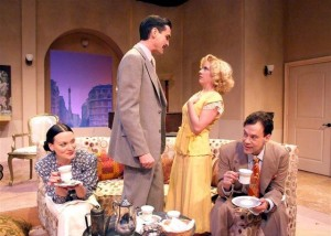 Private Lives by Noel Coward at the Laguna Playhouse