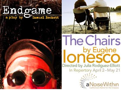 Post image for Theater Review and Commentary: THE CHAIRS (A Noise Within) & ENDGAME (Sacred Fools)