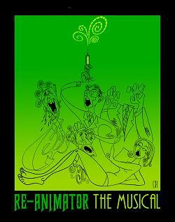 Re-Animator the Musical in Hollywood at the Steve Allen Theater