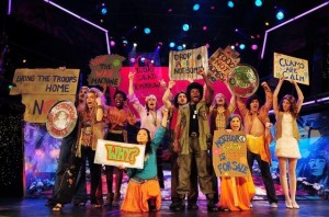 Summer of Love jukebox musical by Roger Bean presented by Musical Theatre West at the Carpenter Performing Arts Center