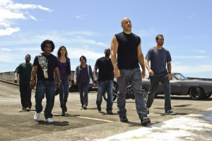 "Fast Five with Vin Diesel and Dwayne ""The Rock"" Johnson directed by Justin Lin"