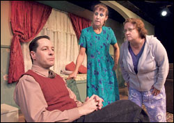 Voice Lessons by Justin Tanner – with Laurie Metcalf, French Stewart, and Maile Flanagan - Sacred Fools Theater, Los Angeles
