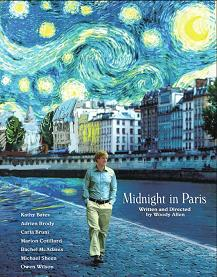 Post image for Movie Review: MIDNIGHT IN PARIS directed by Woody Allen