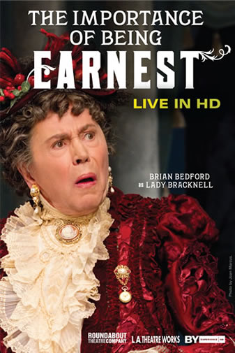 "Post image for HD Live Review:  THE IMPORTANCE OF BEING EARNEST: LIVE IN HD (""live"" video presentation of the Broadway production)"