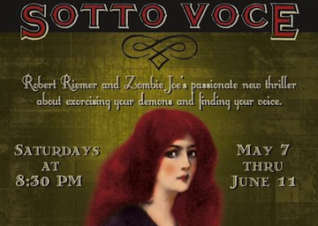 Post image for Theater Reviews:  SOTTO VOCE, ANTIMAN, VOICE LESSONS (Los Angeles)