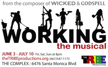 Post image for Musical Theater Review:  WORKING: THE MUSICAL (theTRIBE)
