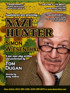 Post image for LA Theater Review: NAZI HUNTER – SIMON WIESENTHAL (Theatre 40 in Beverly Hills)