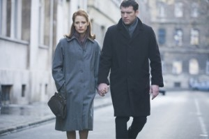 The Debt with Helen Mirren, Jessica Chastain, Tom Wilkinson, directed by John Madden