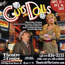 Post image for Regional Theater Review: GUYS AND DOLLS (Theatre at the Center in Munster, Indiana)