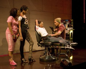 Milk Like Sugar by Kirsten Greenidge at the La Jolla Playhouse – directed by Rebecca Taichman – with Tonya Pinkins, J. Mallory-McCree, Cherise Boothe, Nikiya Mathis, Angela Lewis,