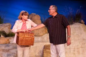 Theatre West presents a Chestnuts Production - SEASCAPE by Edward Albee - Produced and Directed by: Charlie Mount – Los Angeles Theater Review by Kat Michels