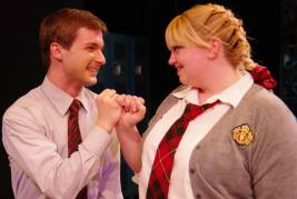 What's Wrong with Angry? By Patrick Wilde at the Celebration Theatre - with Daniel Taylor, Miles Heymann, Kelly Schulmann – directed by Michael Matthews – Los Angeles Theater Review by Sarah Taylor Ellis
