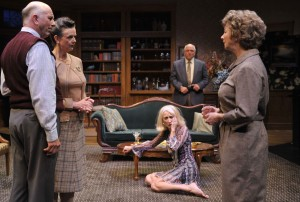 A Delicate Balance by Edward Albee at the Aurora Theatre Company in Berkeley – directed by Tom Ross – with Ken Grantham, Kimberly King, Jamie Jones, Carrie Paff, Charles Dean, Anne Darragh – Bay Area Theater Review by Stacy Trevenon
