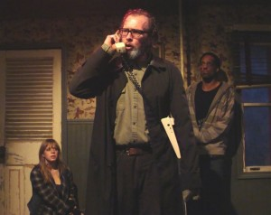 A Behanding in Spokane by Martin McDonagh at Profiles Theatre – with Darrell Cox and Eric Burgher – directed by Rick Snyder – Chicago Theater Review by Dan Zeff